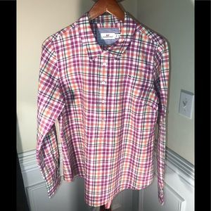 Valerie Stevens Women's 100% Linen Plaid